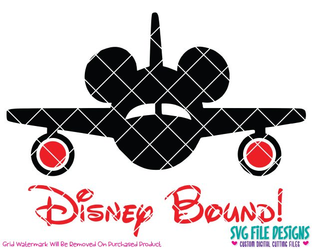 Mickey mouse airplane clipart png transparent library Disney Bound Mickey Mouse Airplane Cut File Set in SVG, EPS, DXF, JPEG, and  PNG png transparent library