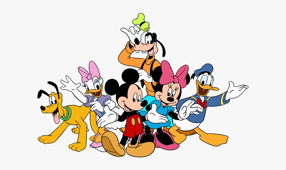 Mickey mouse and friends clipart banner free Mickey And Friends Clipart - Mickey Mouse And Friends Png ... banner free