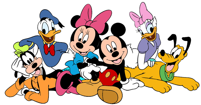 Mickey mouse and friends clipart black and white download Mickey Mouse and Friends Clip Art Images 2 | Disney Clip Art ... black and white download