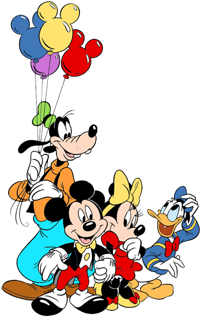 Mickey mouse and friends clipart png transparent stock Mickey Mouse & Friends Clip Art | Disney Clip Art Galore png transparent stock