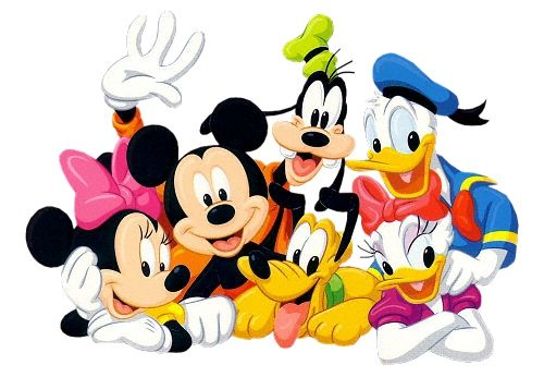 Mickey mouse and friends clipart image library library Happy Birthday with Mickey and Friends | O Happy Day ... image library library