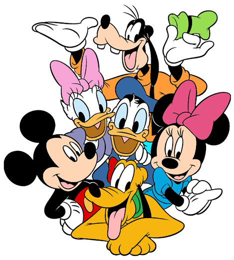 Mickey mouse and friends clipart png Mickey Mouse & Friends Clip Art | Disney Clip Art Galore png