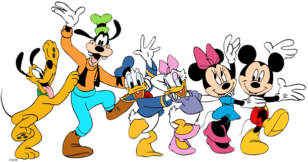 Mickey mouse and friends clipart picture Mickey Mouse And Friends Png Vector, Clipart, PSD ... picture