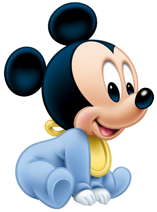 Mickey mouse and minnie with crown clipart banner freeuse library Baby Mickey Sit … … | Birthday… banner freeuse library