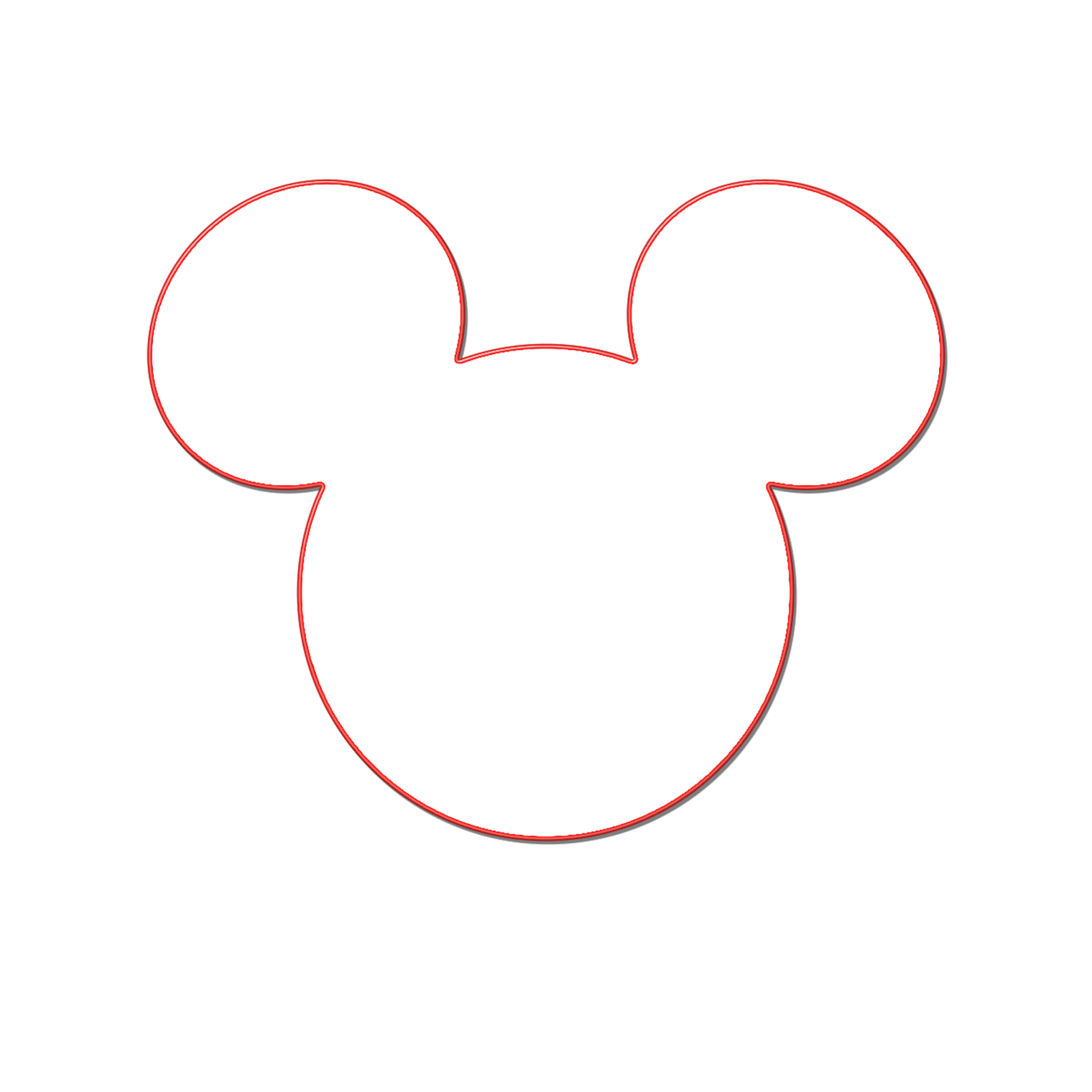 Mickey mouse baseball embroidery design clipart jpg black and white download Silhouette Mickey Mouse Ears at GetDrawings.com | Free for personal ... jpg black and white download