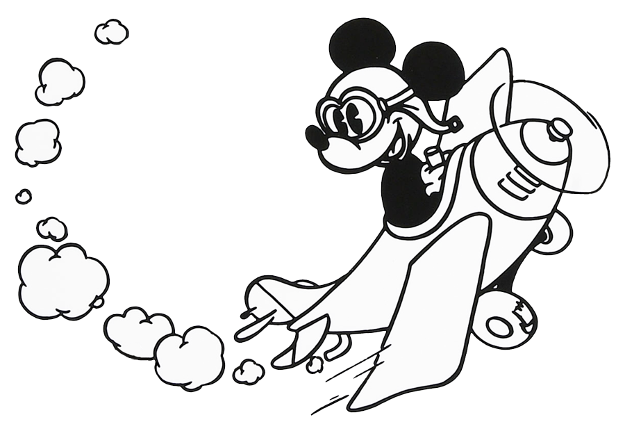Mickey mouse clipart black and white vector library Mickey Mouse Clipart Black And White | Clipart Panda - Free ... vector library