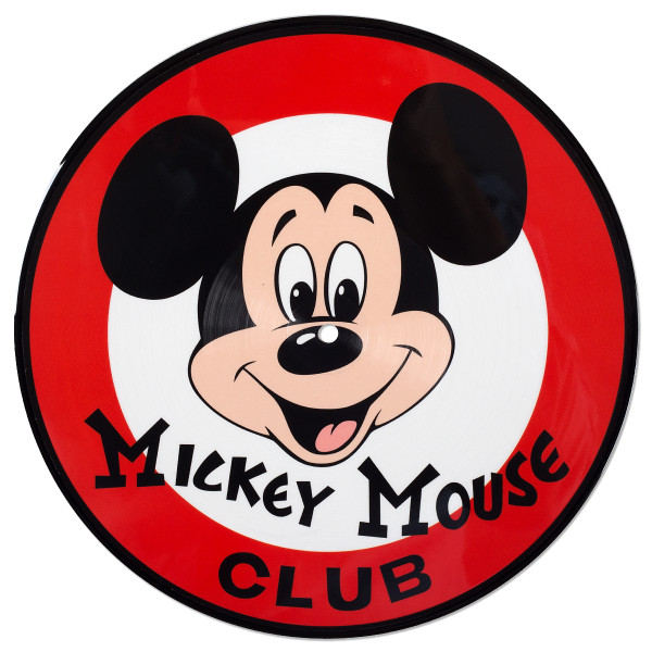 """Mickey mouse club clipart graphic free library Mickey Mouse Club 10"""" Picture Disc   Shop the Disney Music Emporium ... graphic free library"""