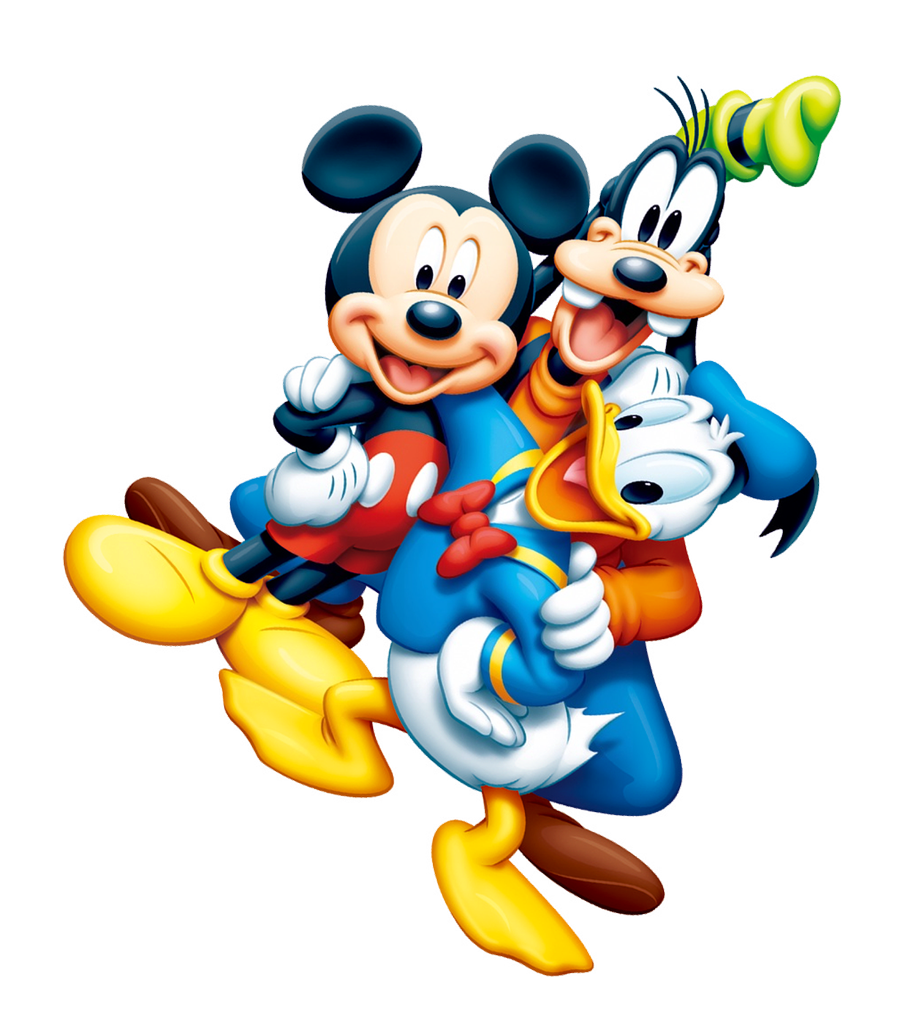Mickey mouse club house clipart vector royalty free Mickey Mouse & Friends PNG Image - PurePNG | Free transparent CC0 ... vector royalty free
