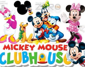 Mickey mouse clubhouse birthday clipart clip art free download Mickey Mouse Clubhouse Clipart Group with 70+ items clip art free download