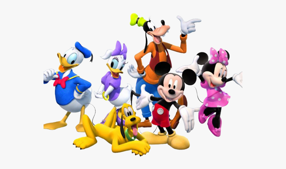 Mickey mouse clubhouse birthday clipart image black and white stock Friends Clipart Mickey Mouse Clubhouse - Mickey Mouse Clubhouse Png ... image black and white stock