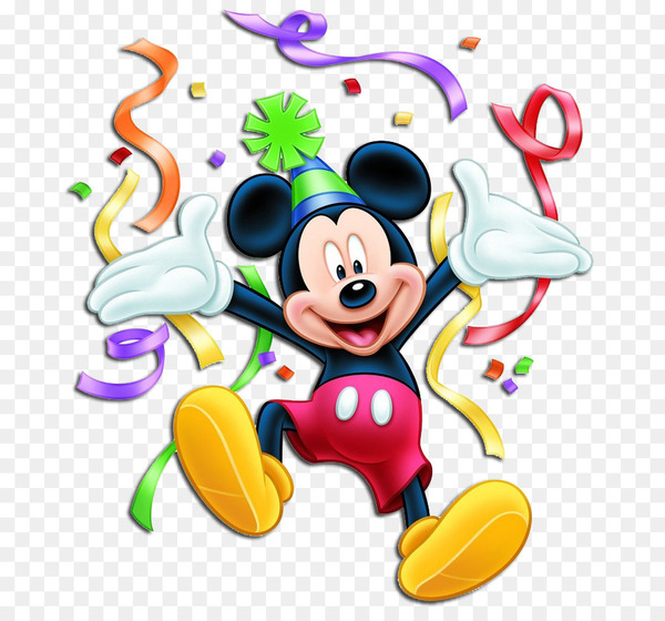 Mickey mouse clubhouse birthday clipart stock Minnie Mouse Mickey Mouse Donald Duck Birthday Clip art - mickey ... stock