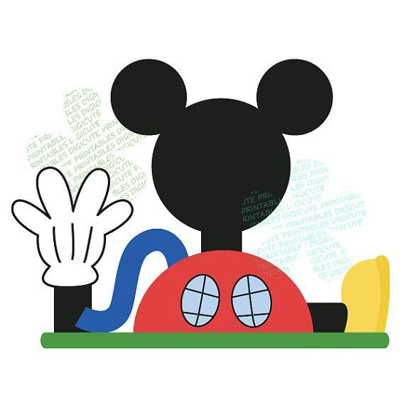 Mickey mouse clubhouse black and white clipart picture freeuse stock Mickey mouse clubhouse black and white clipart 3 » Clipart Portal picture freeuse stock