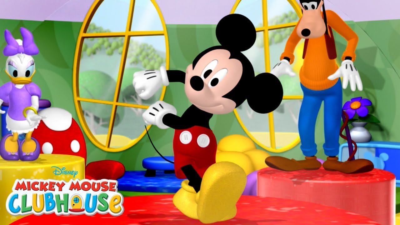 Mickey mouse clubhouse clipart goofy bunde hindi jpg free stock All Hot Dog Dances! Compilation   Mickey Mouse Clubhouse   Disney Junior jpg free stock