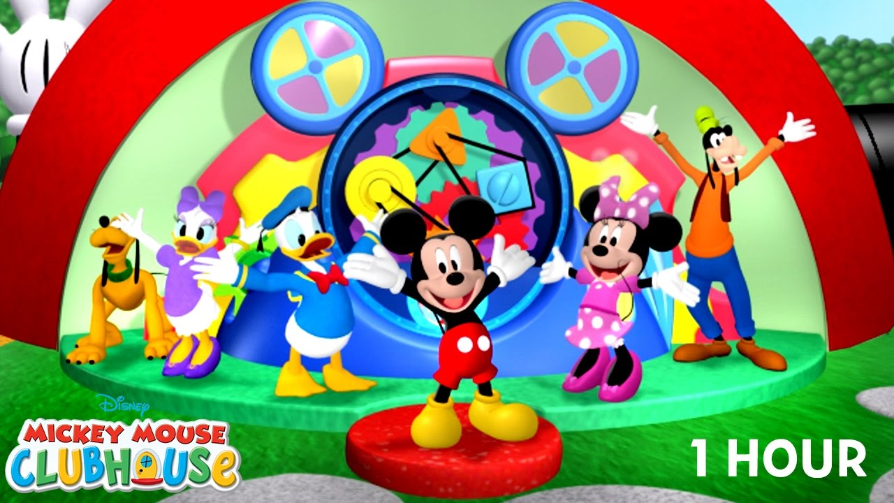 Mickey mouse clubhouse clipart goofy bunde hindi stock Hot Dog Dance (1 hour)   Mickey Mouse Clubhouse   Disney Junior stock