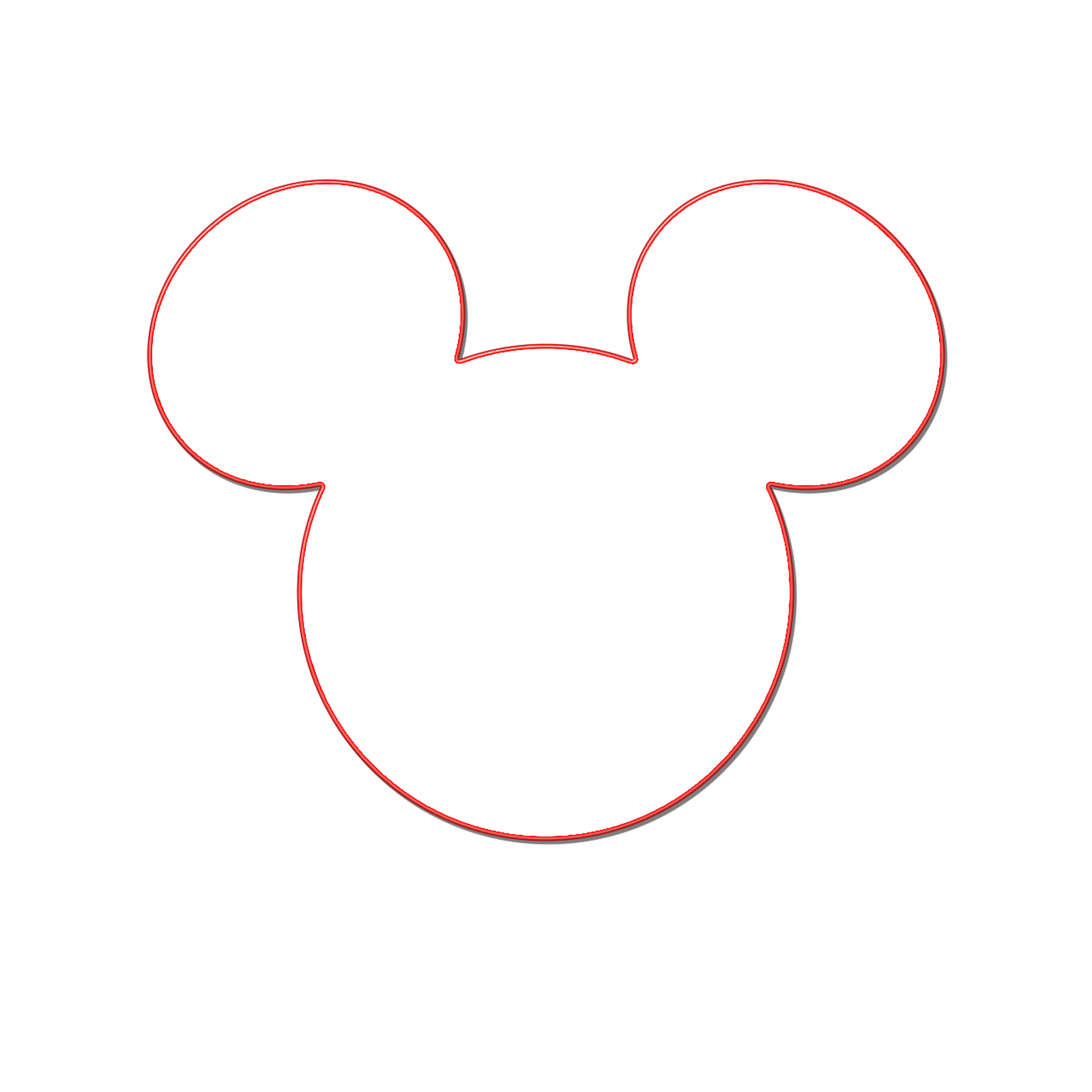 Mickey mouse head halloween clipart clip royalty free Milliepie's Musings: Making your own Mickey Head | Disney ... clip royalty free
