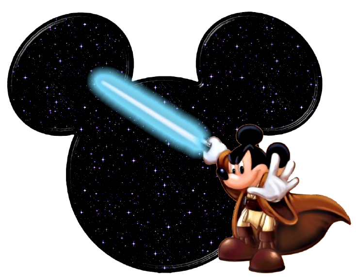 Mickey star wars clipart vector Mickey Mouse Icons Clipart vector