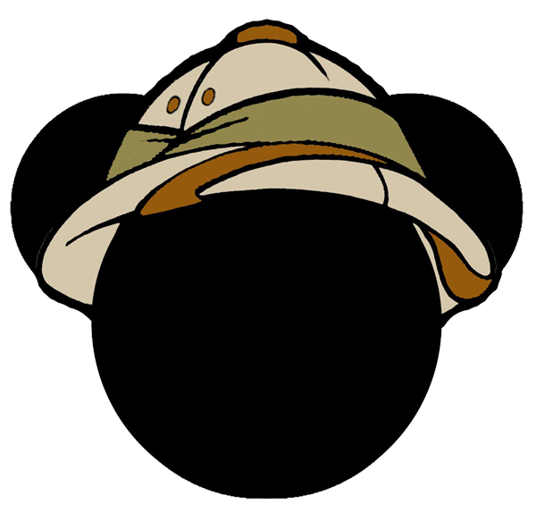 Mickey mouse wearing baseball cap clipart jpg free stock Festa Mickey Safari - imagens e fundos para personalizar! | Guia ... jpg free stock
