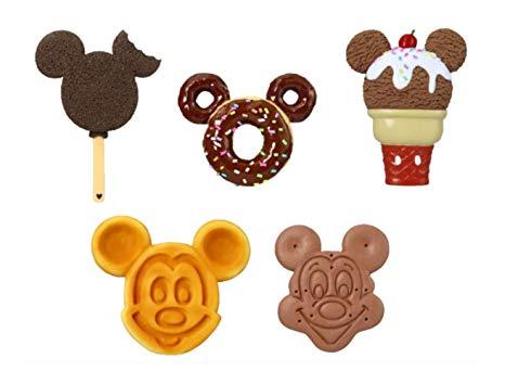 Mickey waffle clipart