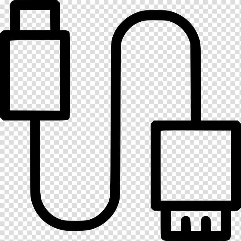 Micro usb cable clipart vector free USB Flash Drives Computer Icons Electrical connector Micro ... vector free
