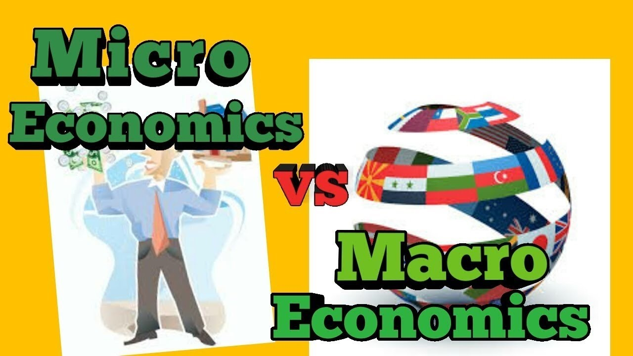 Microeconomics clipart image freeuse download Difference between Microeconomics and macroeconomics in hindi image freeuse download