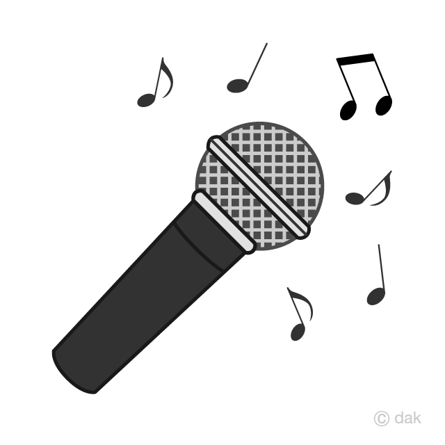 Clipart mircophone jpg library stock Musical Microphone Clipart Free Picture|Illustoon jpg library stock