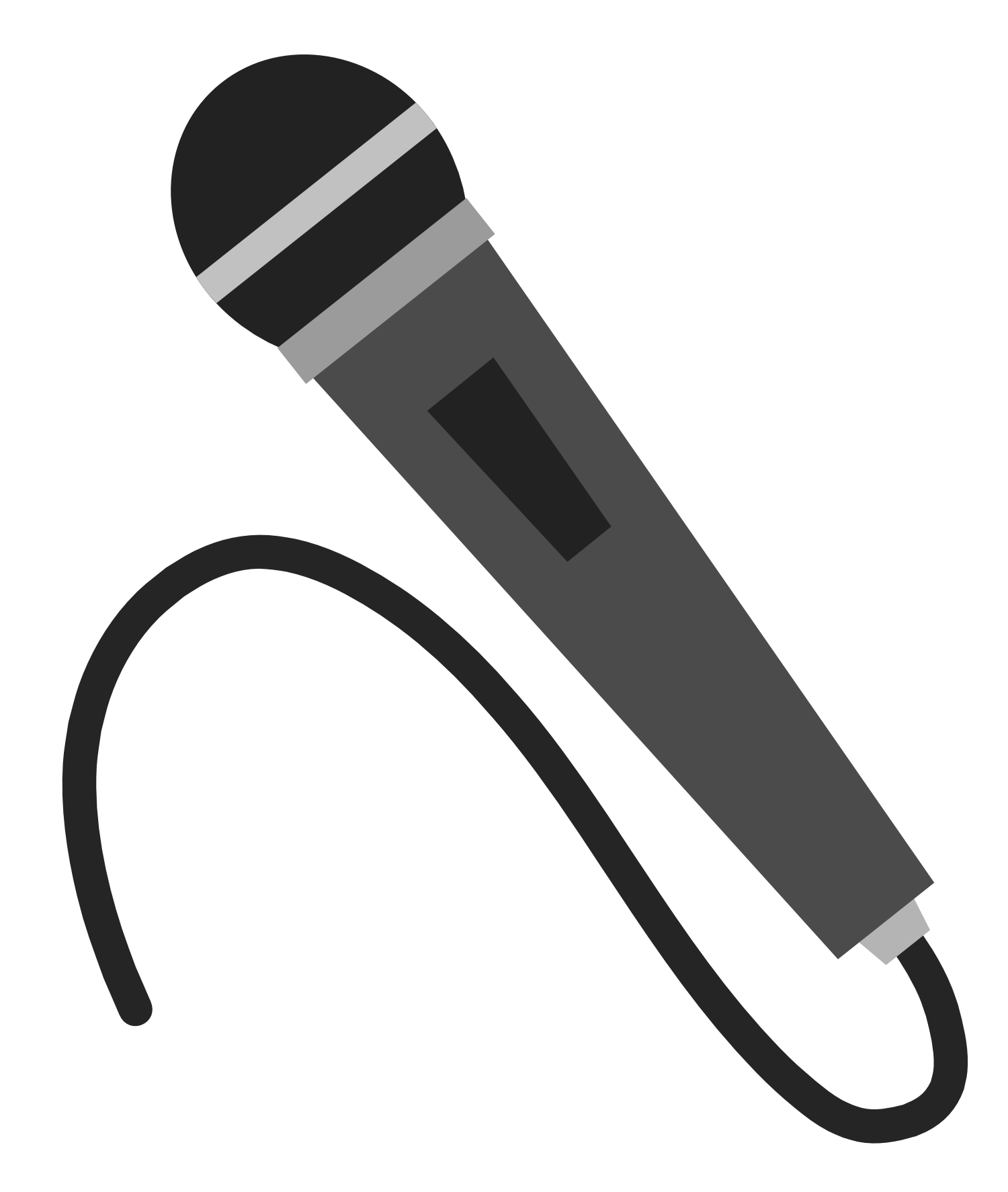 Microhpne clipart picture free download Radio microphone free clipart images | Party Themes | Free clipart ... picture free download