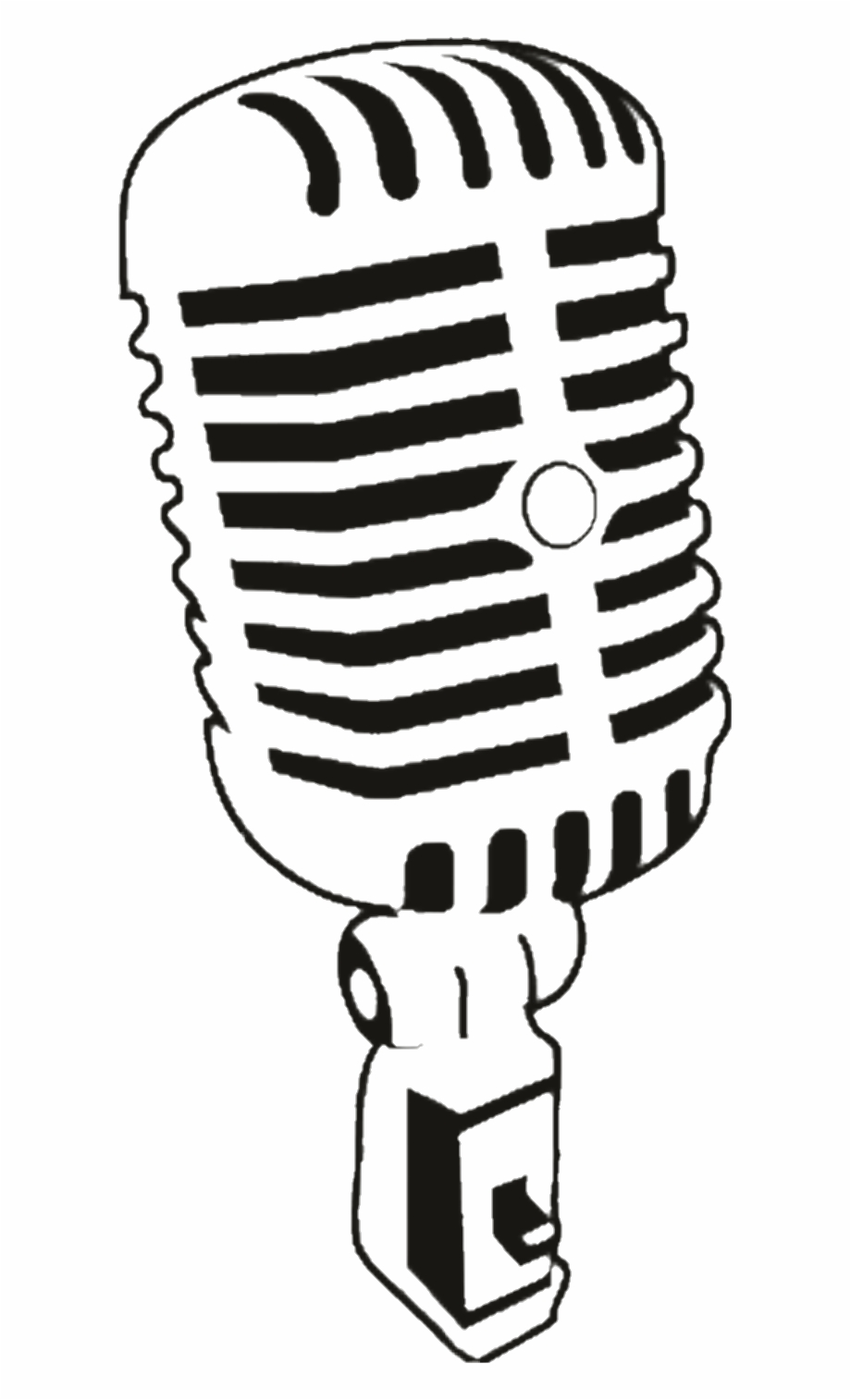 Microphone vector clipart graphic freeuse microphone #rock #microfono - Vintage Microphone Vector Png Free PNG ... graphic freeuse