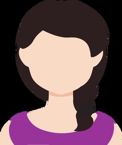 Microsoft avatar clipart clip black and white 3747 female avatar clipart | Public domain vectors clip black and white