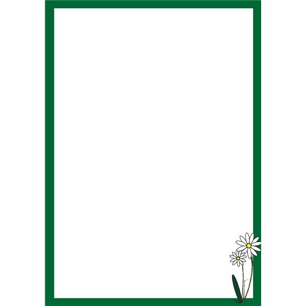 Microsoft clipart backgrounds image royalty free download free border clip art for microsoft word   Decorative Daisy ... image royalty free download