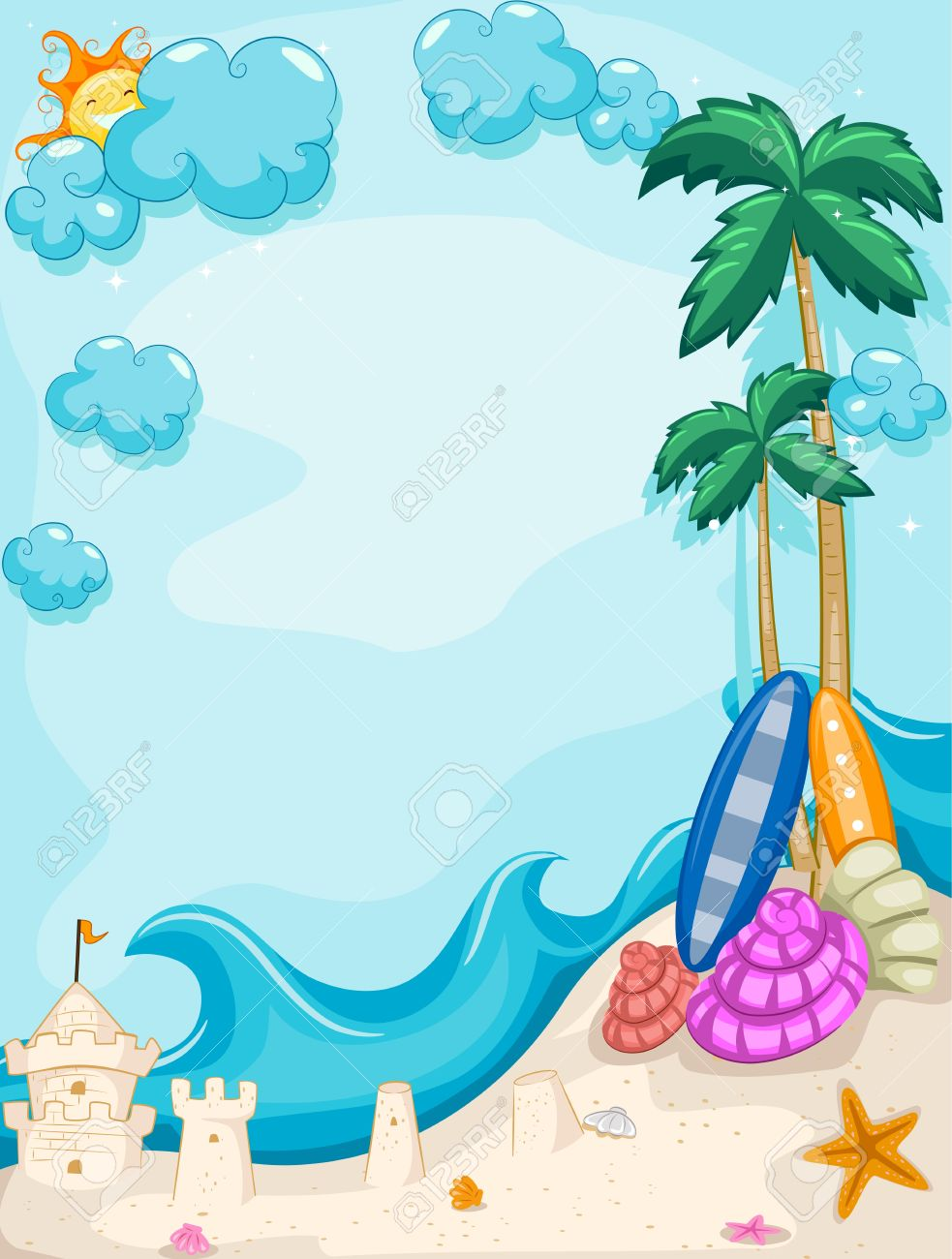 Microsoft clipart backgrounds vector free stock Background Illustration with a   Clipart Panda - Free ... vector free stock