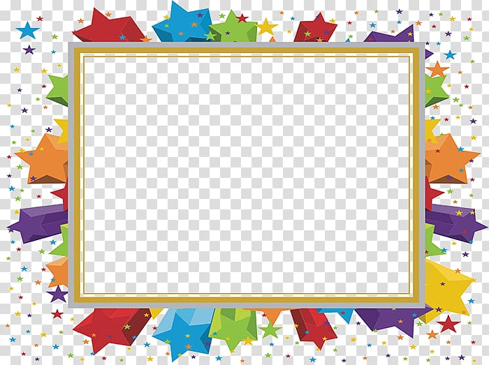 Microsoft clipart star svg stock Template Microsoft PowerPoint Party Ppt , Colored stars border ... svg stock
