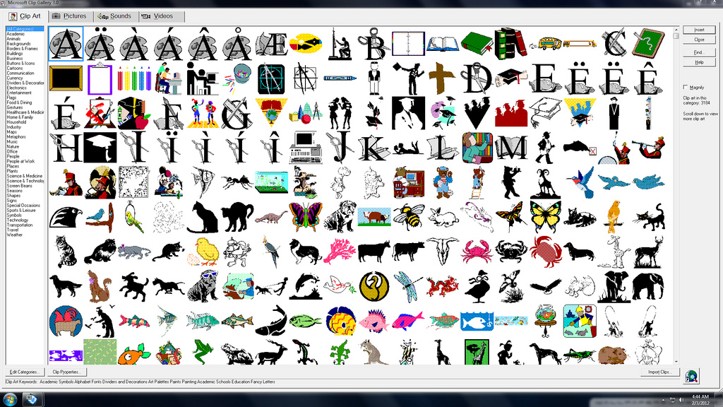 Microsoft cliparts banner black and white library Microsoft Office Gallery Clipart - Clipart Kid banner black and white library