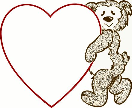 Microsoft free clipart valentines picture black and white stock Valentine S Day Clip Art Microsoft | Clipart Panda - Free Clipart ... picture black and white stock