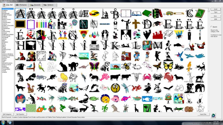Www microsoft office clipart com free library Microsoft kills Clip Art image library, redirects Office users to ... free library