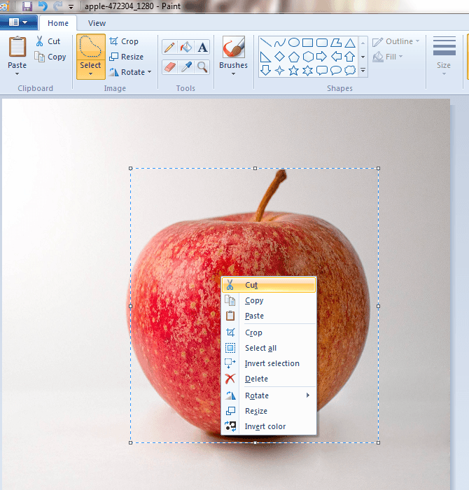 Microsoft paint clipart transparent background svg royalty free How to make background of images transparent in Microsoft ... svg royalty free