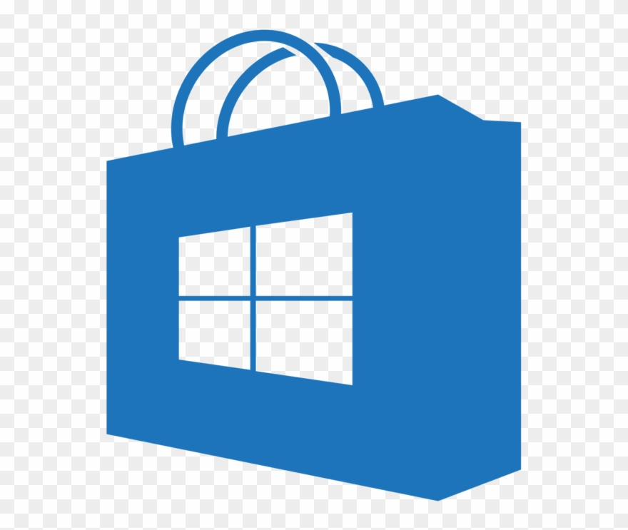 Microsoft store icon clipart vector royalty free download Windows 10 Png Icon - Windows Store Icon Transparent Clipart (#82106 ... vector royalty free download