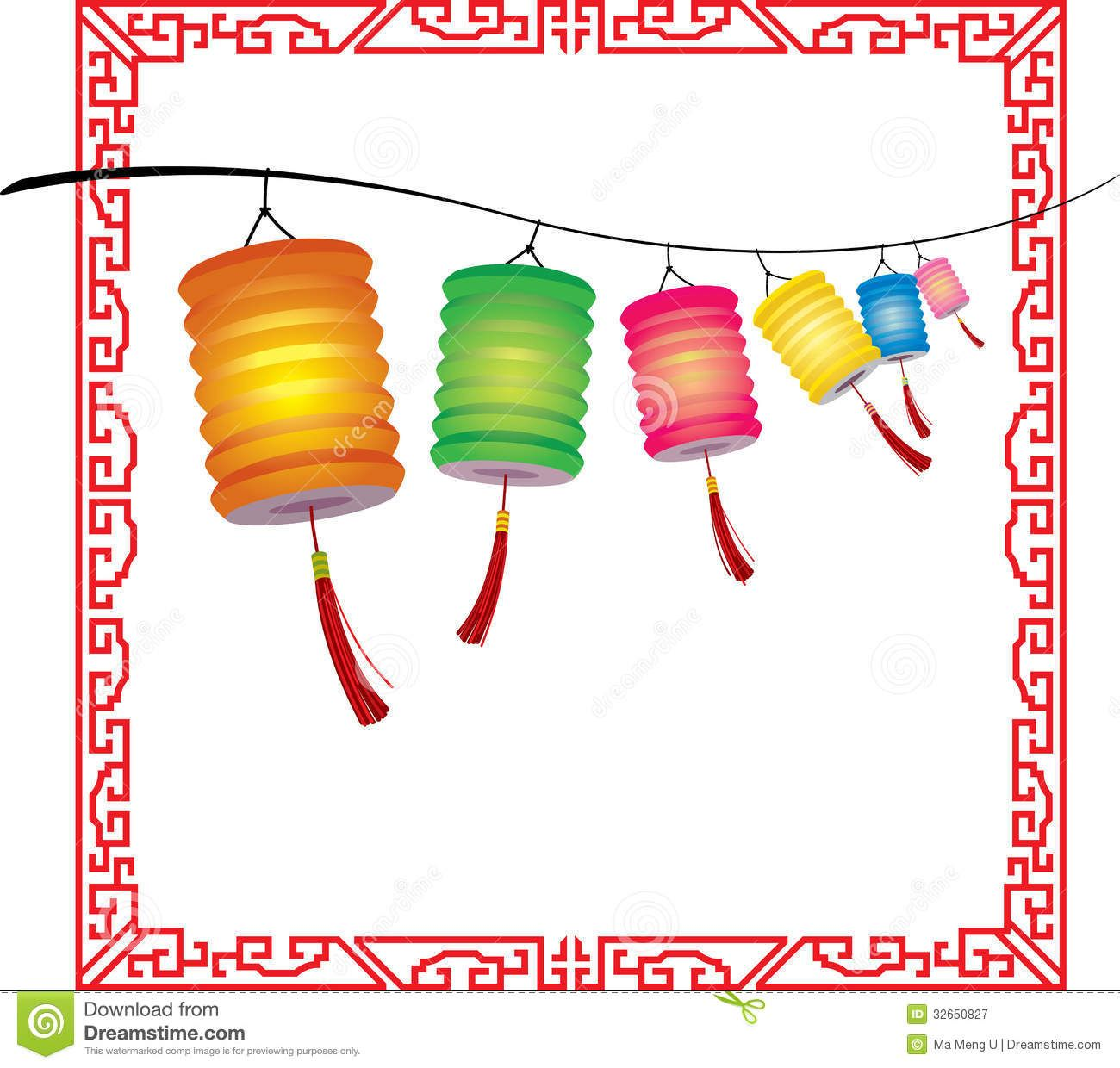 Mid autumn festival lantern clipart svg transparent stock Clipart Images clipart lantern festival : String Of Bright ... svg transparent stock