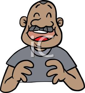 Middle aged man clipart graphic transparent stock A Laughing Middle Aged Man - Royalty Free Clipart Picture graphic transparent stock