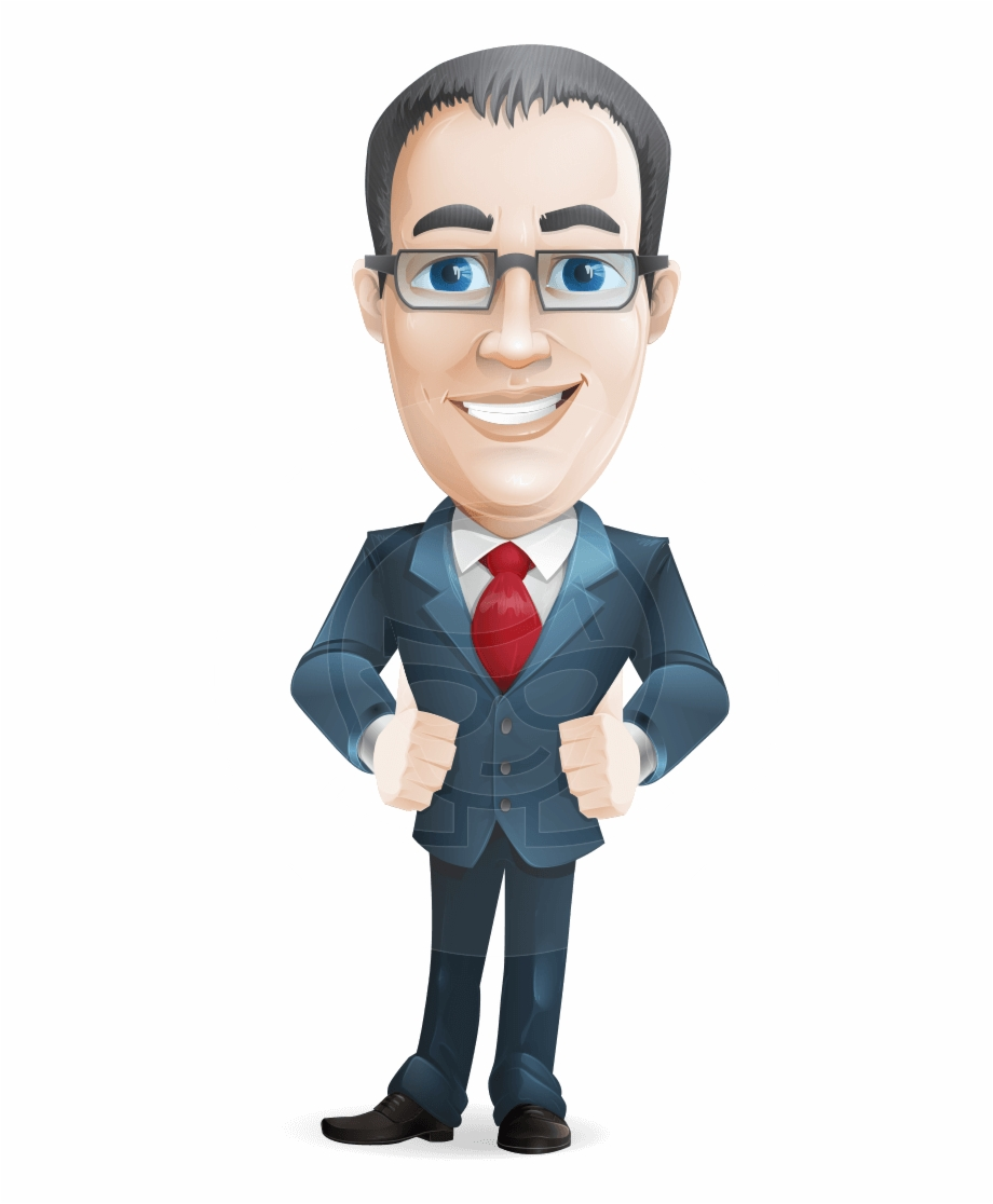 Middle aged man clipart svg freeuse library Business Cartoon Thomas - Middle Aged Man Cartoon ... svg freeuse library