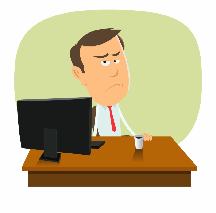 Middle class clipart image transparent stock Man At Desk - Middle Class Man Clipart, Transparent Png ... image transparent stock