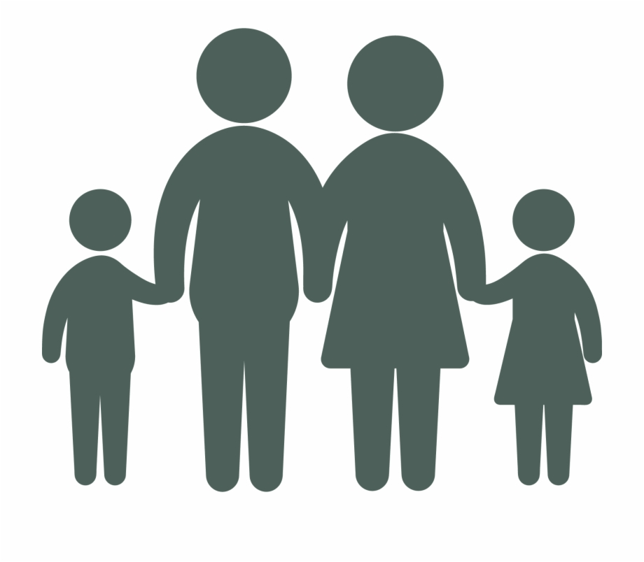 Middle class clipart clipart transparent stock Family Law - Middle Class Family Icon Free PNG Images ... clipart transparent stock
