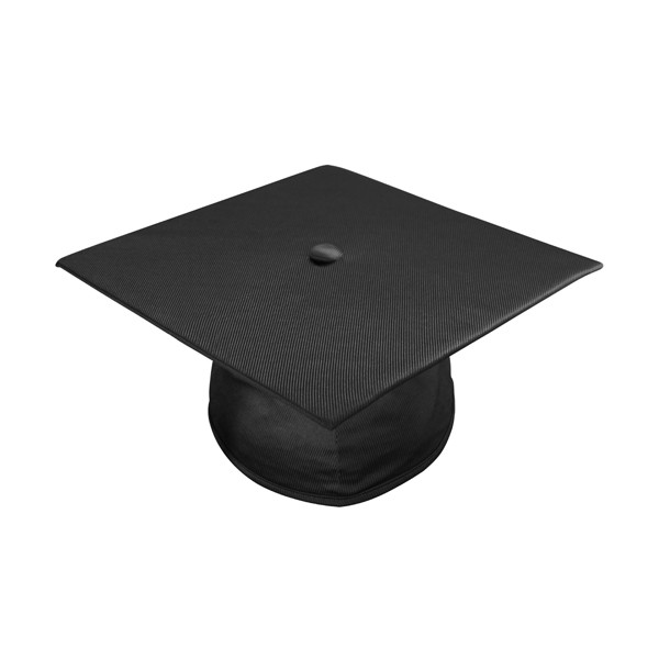 Middle school graduation cap and gown clipart clip freeuse download Shiny Black Middle School Cap clip freeuse download