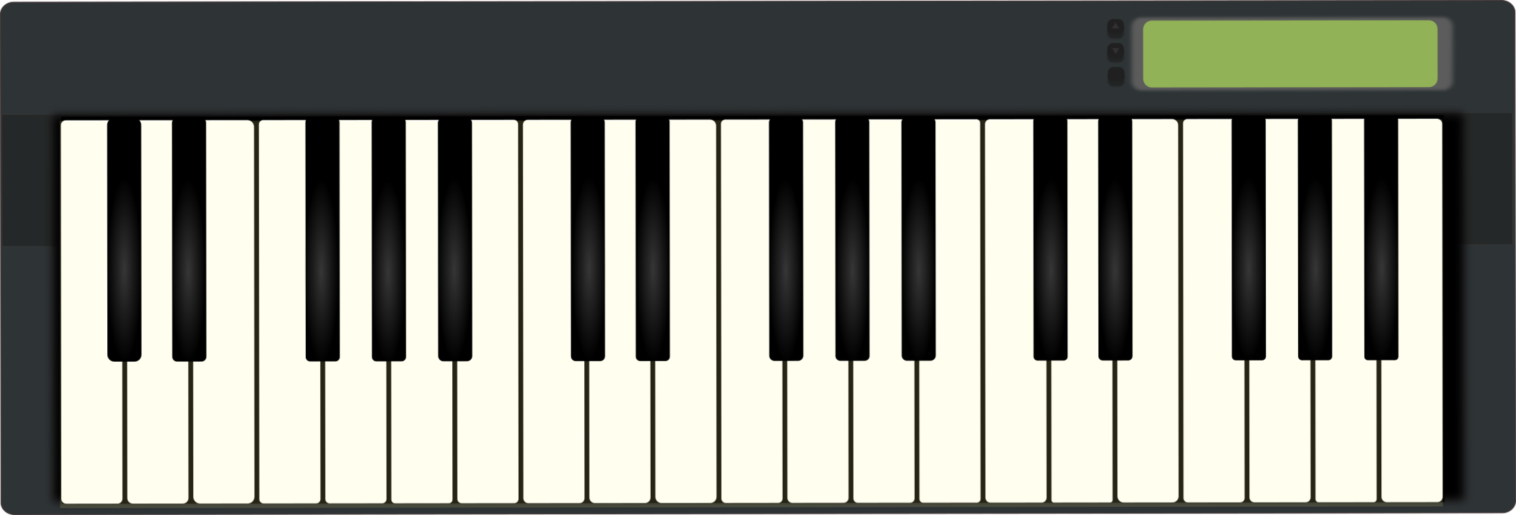 Midi controller clipart clip freeuse library Digital Piano,Musical Instrument,Electric Piano Clipart ... clip freeuse library