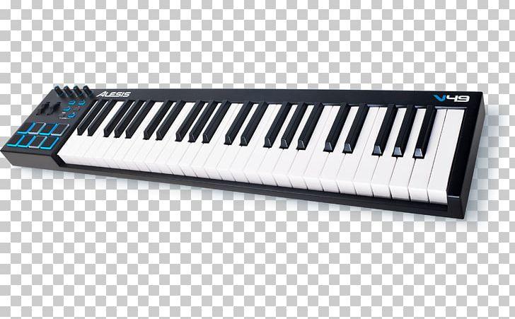 Midi controller clipart picture library download MIDI Controllers MIDI Keyboard Musical Instruments Alesis ... picture library download