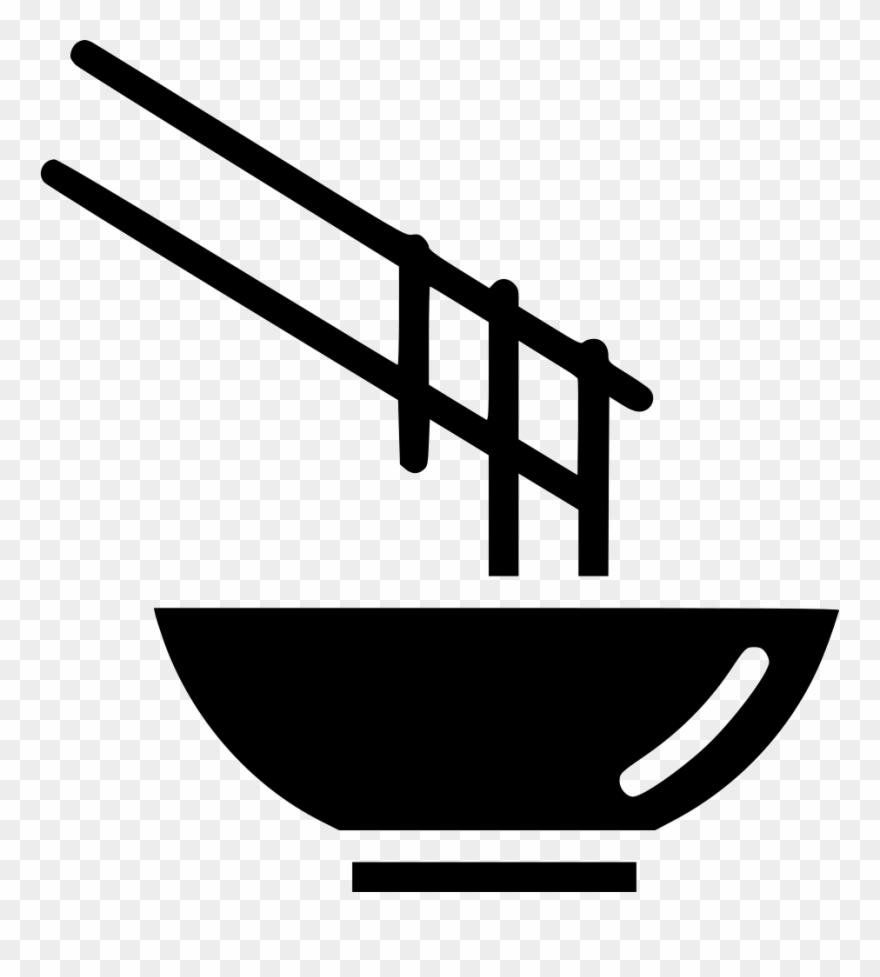 Mie ayam clipart banner black and white Graphic Black And White Stock Bowl Eat Chinese Japanese ... banner black and white