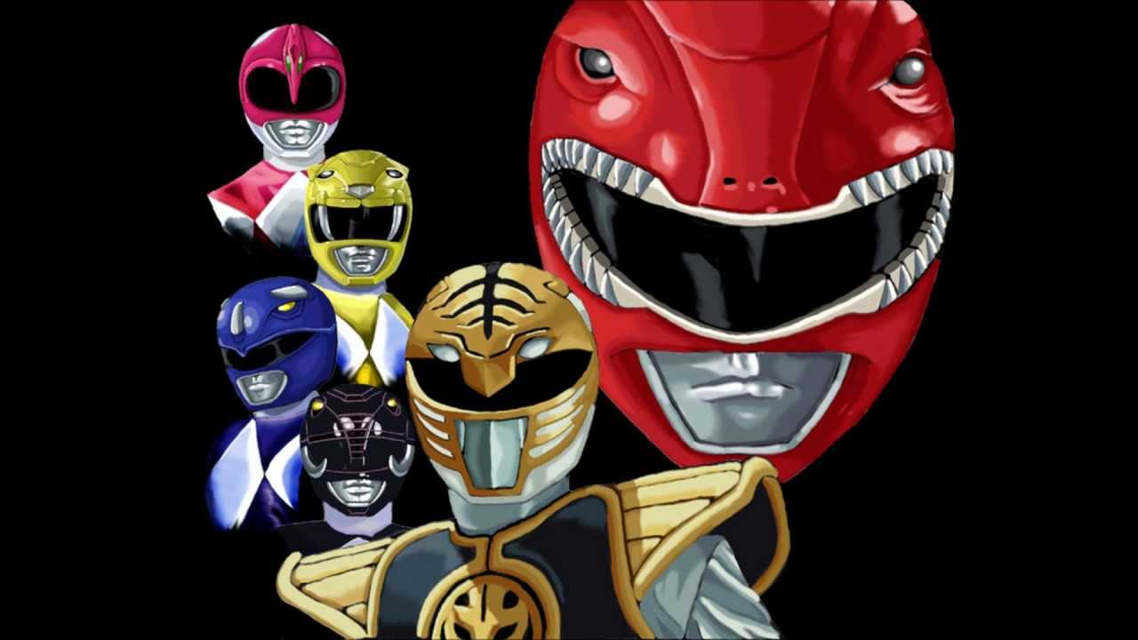 Mighty morphin power rangers lego intro clipart vector library download Mighty Morphin\' Power Rangers - Go Go Power Rangers (Original Theme) vector library download