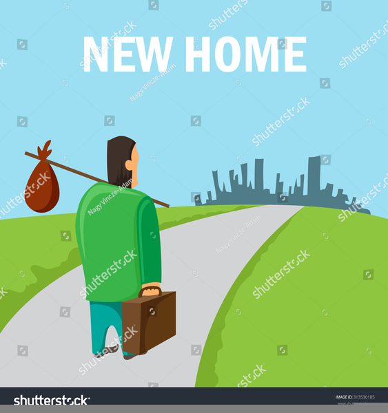 Migration of people clipart svg freeuse library Migration Clipart | Free Images at Clker.com - vector clip ... svg freeuse library