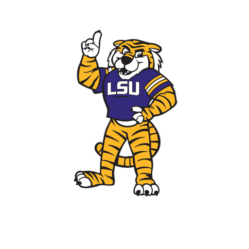 Mike the tiger clipart banner royalty free Free Lsu Mascot Pictures, Download Free Clip Art, Free Clip ... banner royalty free