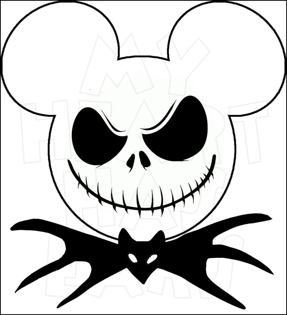 Mikie mouse jack o lantern head halloween clipart clip art download Mickey Mouse dressed as Jack Skellington INSTANT DOWNLOAD ... clip art download