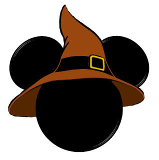 Mikie mouse jack o lantern head halloween clipart clip freeuse download HALLOWEEN MICKEY MOUSE HEAD WITH WITCH HAT CLIP ART | CLIP ... clip freeuse download